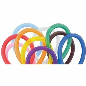 160Q Traditional Assortment Twisting Balloons 100ct #43915