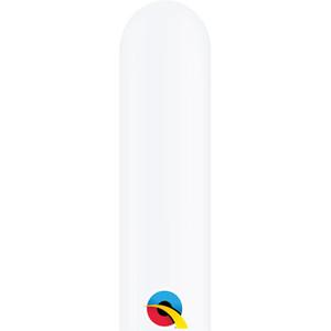 white 260q twisting balloons