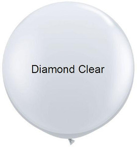 "36"" Qualatex Round Diamond Clear 1ct #43392"