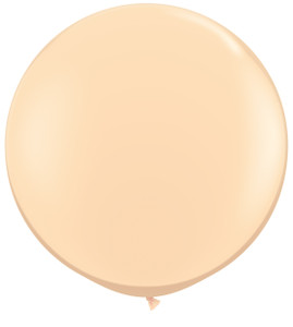 "36"" Qualatex Round Blush Latex Balloons 1ct #82987"