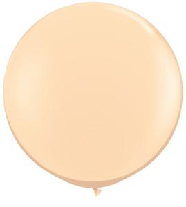"""36"""" Qualatex Round Blush Latex Balloons 1ct #82987"""