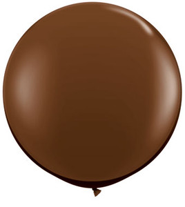 "36"" Qualatex Round Chocolate Brown Balloon 1ct #83660"