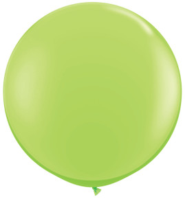 """36"""" Qualatex Lime Green Round Latex Balloons 1ct #43660"""