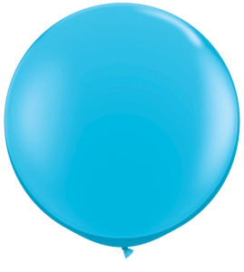 "36"" Qualatex Robins Egg Round Latex Balloon 1ct #82784"
