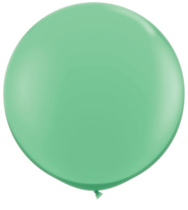 "36"" Qualatex Round Winter Green Balloons 1ct #43513"