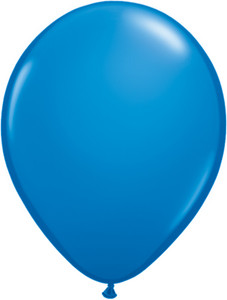 "5"" Qualatex Dark Blue Latex Balloons 100Bag #43553"