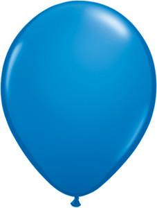 "5"" Qualatex Dark Blue Latex Balloons 100Bag #43553"