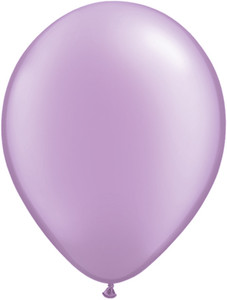 "5"" Qualatex Pearl Lavender Balloons 100Bag #43587-5"