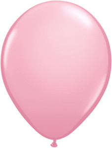 "5"" Qualatex Pink Latex Balloons 100Bag #43575-5"
