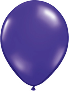 "5"" Qualatex Quartz Purple Latex Balloons 100 Bag #43598"