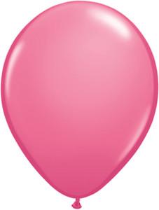 "5"" Qualatex Rose Latex Balloons 100Bag #43600-5"