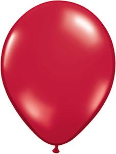 "5"" Qualatex Ruby Red Latex Balloons 100Bag #43601-5"