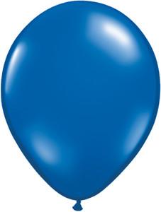 """5"""" Qualatex Sapphire Blue Latex Balloons 100Bag #43602-5"""