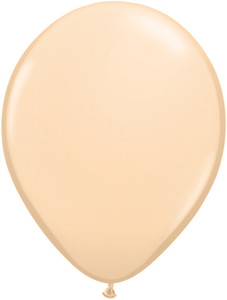 "11"" Qualatex Fashion Blush Helium Latex Balloon 100ct #82667"