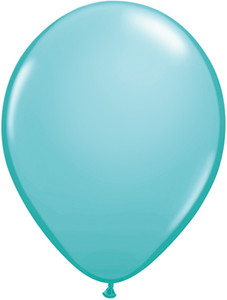 "11"" Qualatex Caribbean Blue 100ct #50322"