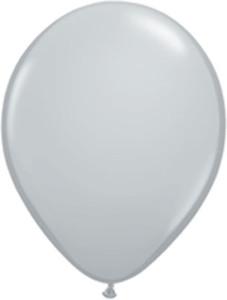 "11"" Qualatex Gray 100ct #13780"