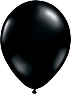 "11"" Qualatex Onyx Black 100ct #43737-11"