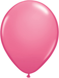"11"" Qualatex Rose Helium Latex Balloons 100ct #43791"