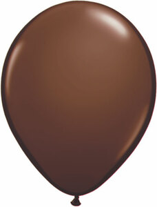 chocolate brown balloons 16""