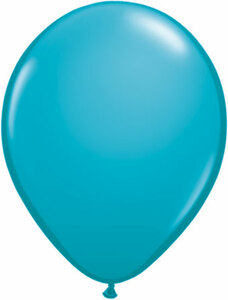 "16"" Qualatex Tropical Teal 50 ct"
