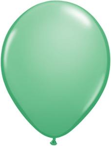 winter green balloons