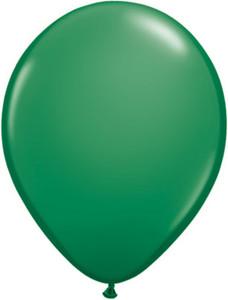 "16"" qualatex standard green helium balloons"