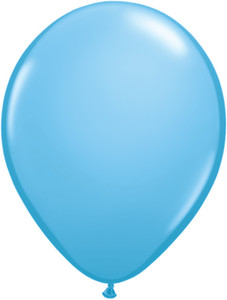 "16"" Qualatex Pale Blue Balloons 50ct #43879"