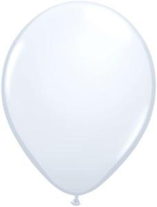 "16"" Qualatex Standard White 50ct #43904"