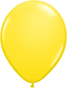 "16"" Qualatex Standard Yellow 50ct"