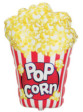"38"" Jumbo Popcorn Balloon 1ct #15461"