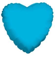 turquoise heart balloon