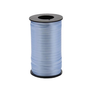 "Light Blue  Thin Curling Ribbon 3/16""x1500' #103"