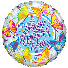 mini mother's day foil stick balloons