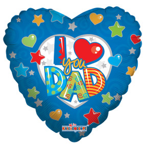 i love you dad balloons