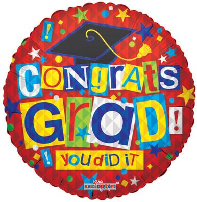 congrats grad balloon