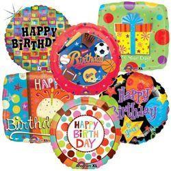 happy birthday balloons bulk pack