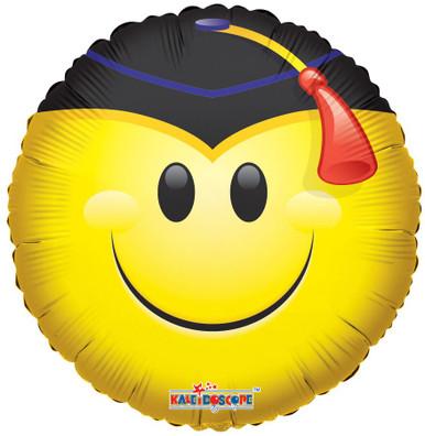 smile graduation balloon helium balloon