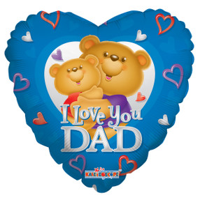 i love dad balloons