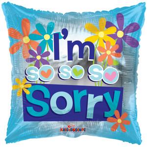 18″ BV I'M So So Sorry 5pk  15864-18