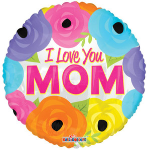 i love you mom balloons