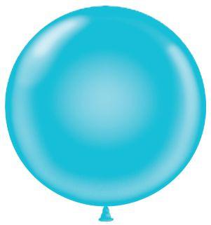 turquoise balloons