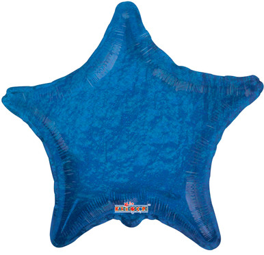 holographic star balloon