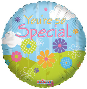 "9"" You're So Special Landscape Foil  Air Fill Only (5 pack)#19498"
