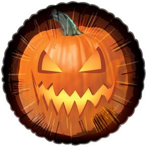 pumpkin balloon jack o lantern balloon