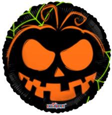 neon pumpkin glow