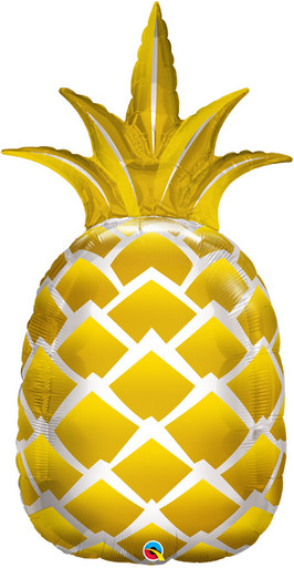 pineapple balloon golden pineapple