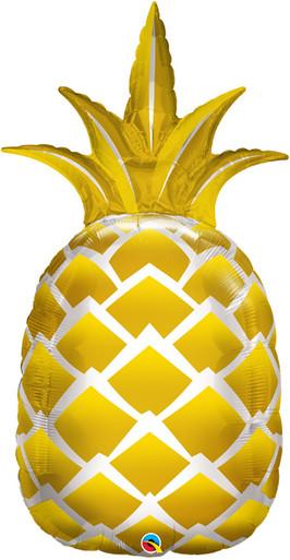 pineapple balloon golden pineapple