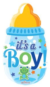 its a boy balloons ,baby bottle balloons