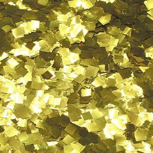 Confetti Gold Metallic Glitter Confetti 1LB Bag