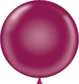 burgundy balloons